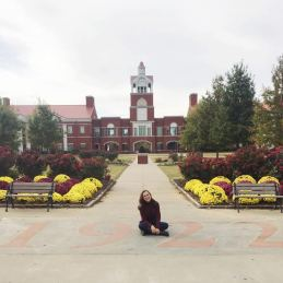 Just another touristy photo of Sarah on a college campus. Hello, Murray State University!